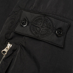 Мужская куртка Stone Island Shadow Project Hollowcore Metal Bomber Black фото- 4
