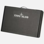 Мужская куртка Stone Island Shadow Project Hooded Bonded Leather Black фото- 8
