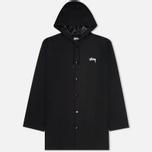 Мужская куртка Stussy Long Hooded Black фото- 0