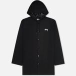 Мужская куртка Stussy Long Hooded Black фото- 0