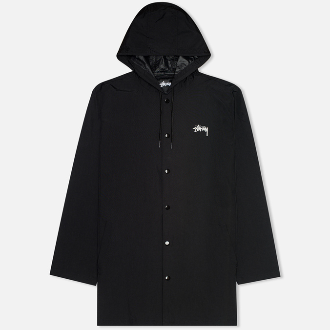 Мужская куртка Stussy Long Hooded Black