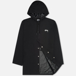 Мужская куртка Stussy Long Hooded Black фото- 1