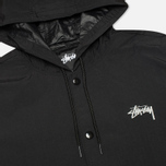 Мужская куртка Stussy Long Hooded Black фото- 2