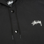 Мужская куртка Stussy Long Hooded Black фото- 3