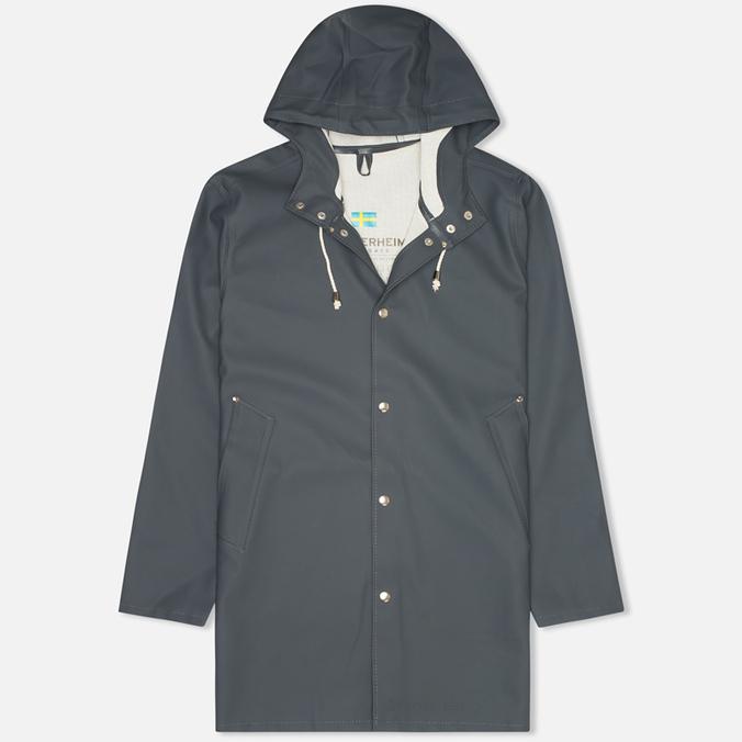 Мужская куртка дождевик Stutterheim Stockholm Charcoal