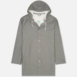 Мужская куртка дождевик Stutterheim Stockholm Grey фото- 0