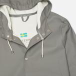 Мужская куртка дождевик Stutterheim Stockholm Grey фото- 1