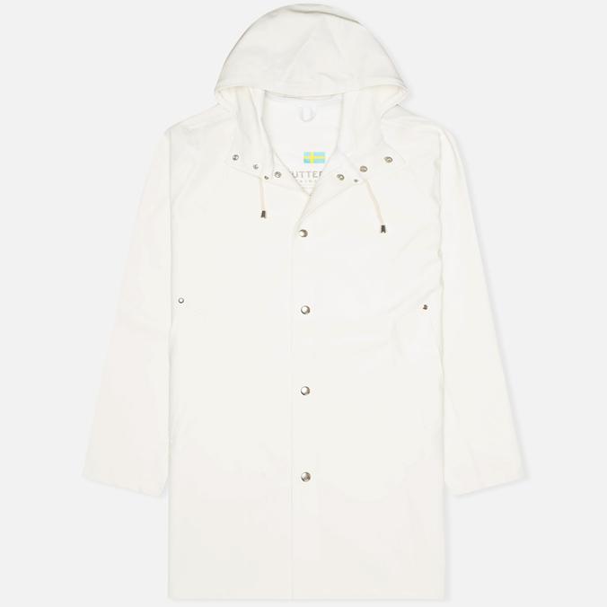 Мужская куртка дождевик Stutterheim Stockholm White