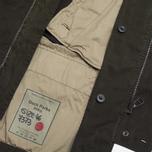 Мужская куртка Ten C Deck Parka Olive фото- 6
