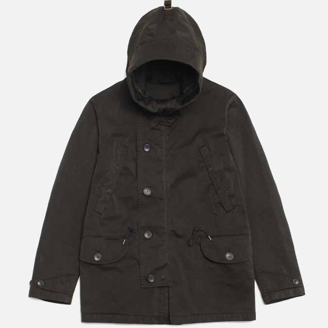 Мужская куртка Ten C Deck Parka Olive