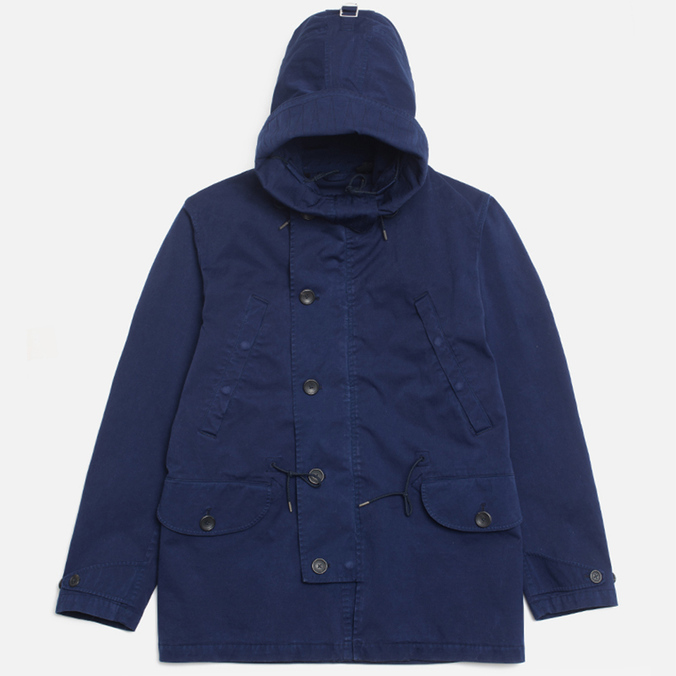 Мужская куртка Ten C Deck Parka Royal Blue