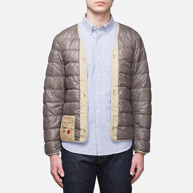Мужская куртка подкладка Ten C The Liner Khaki