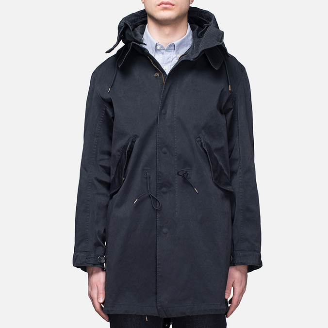 Мужская куртка Ten C Parka Dark Navy
