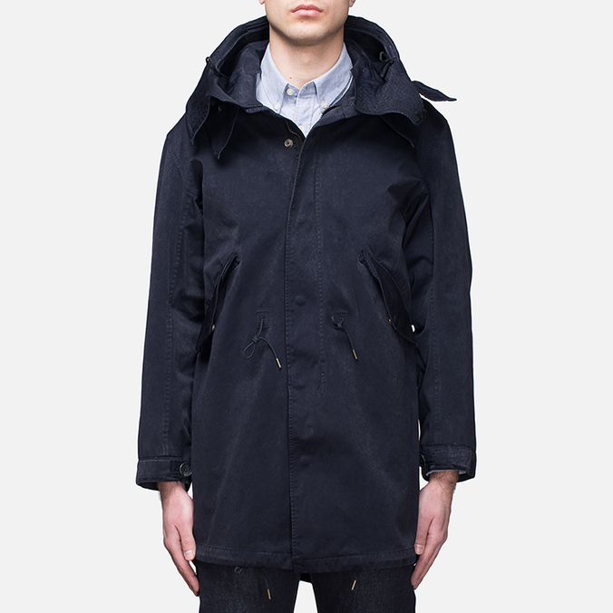 Мужская куртка Ten C Parka Midnight Blue