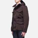 Мужская куртка Ten C Smock Snow Burgundy фото- 1