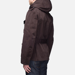 Мужская куртка Ten C Smock Snow Burgundy фото- 3