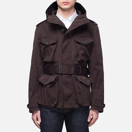 Мужская куртка Ten C Smock Snow Burgundy
