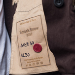 Мужская куртка Ten C Smock Snow Burgundy фото- 10