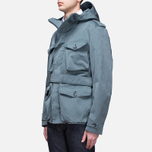 Мужская куртка Ten C Smock Snow Cadet Blue фото- 1