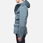Мужская куртка Ten C Smock Snow Cadet Blue фото- 2