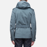 Мужская куртка Ten C Smock Snow Cadet Blue фото- 4