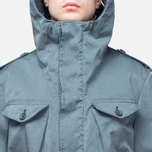 Мужская куртка Ten C Smock Snow Cadet Blue фото- 6