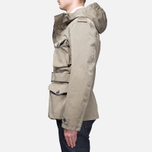 Мужская куртка Ten C Smock Snow Khaki фото- 2