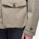Мужская куртка Ten C Smock Snow Khaki фото- 12