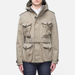 Мужская куртка Ten C Smock Snow Khaki фото- 0