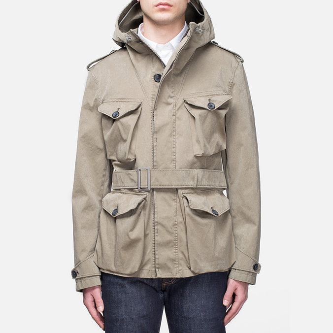 Мужская куртка Ten C Smock Snow Khaki
