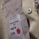 Мужская куртка Ten C Smock Snow Khaki фото- 10
