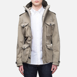 Мужская куртка Ten C Smock Snow Khaki фото- 6