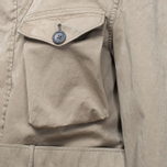 Мужская куртка Ten C Smock Snow Khaki фото- 11