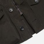 Мужская куртка Ten C Smock Snow Olive фото- 6
