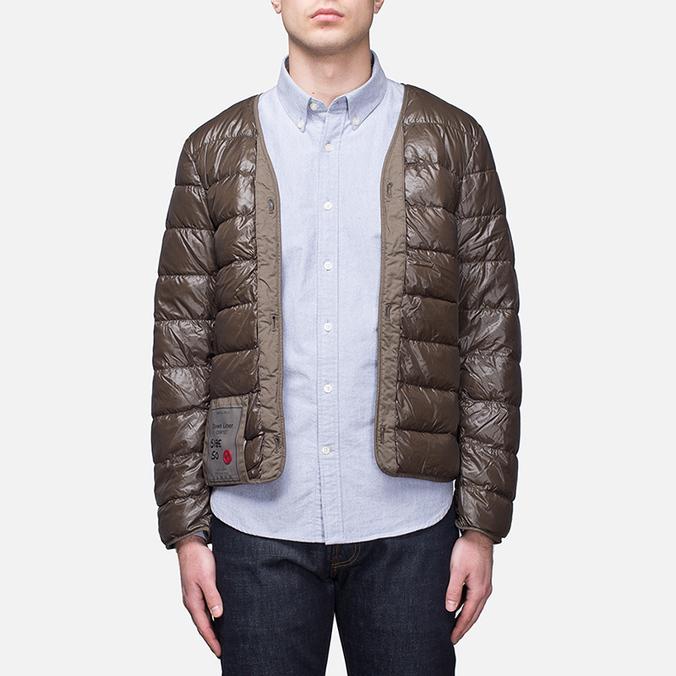 Мужская куртка подкладка Ten C The Liner Brown