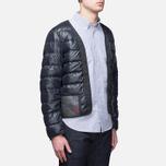 Мужская куртка подкладка Ten C The Liner Navy фото- 1