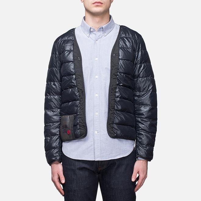 Мужская куртка подкладка Ten C The Liner Navy