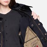 Женская куртка Ten C Short Parka Navy фото- 9
