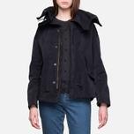 Женская куртка Ten C Short Parka Navy фото- 5