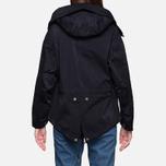 Женская куртка Ten C Short Parka Navy фото- 4