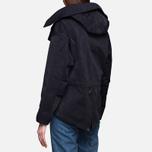 Женская куртка Ten C Short Parka Navy фото- 3