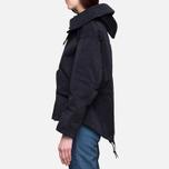 Женская куртка Ten C Short Parka Navy фото- 2