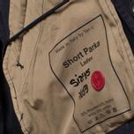 Женская куртка Ten C Short Parka Navy фото- 10