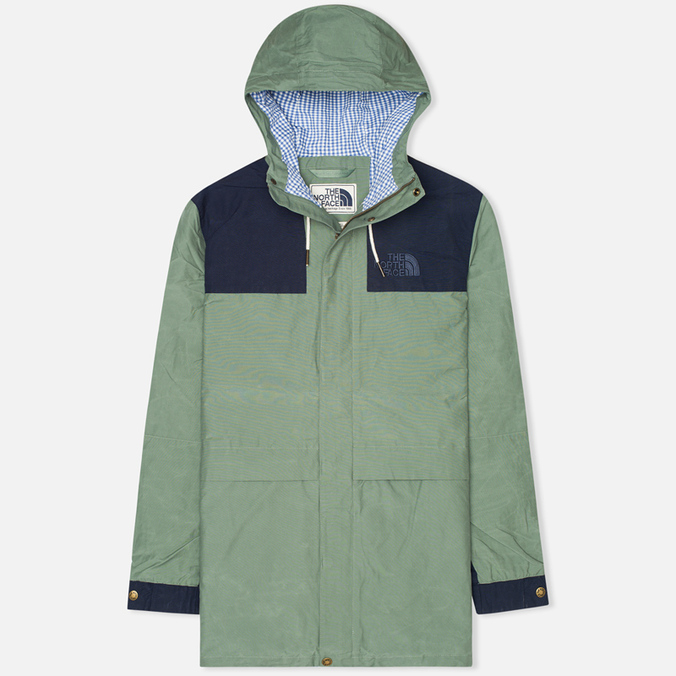 Мужская куртка парка The North Face 1985 Heritage Mountain Laurel Wreath Green/Cosmic Blue