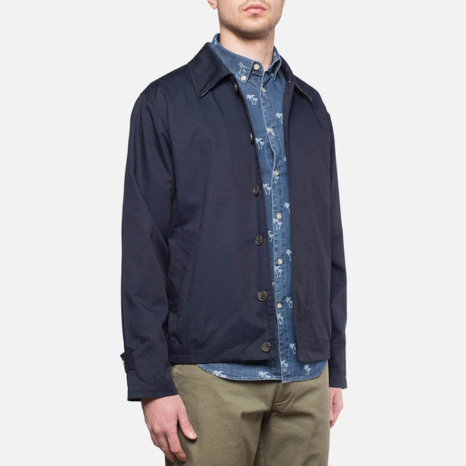 Velour Artus Jacket Navy