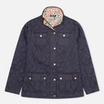 Женская стеганая куртка Barbour Alice Navy фото- 0