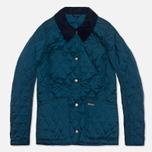 Женская стеганая куртка Barbour Annandale Dress Blue фото- 0
