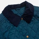 Женская стеганая куртка Barbour Annandale Dress Blue фото- 1