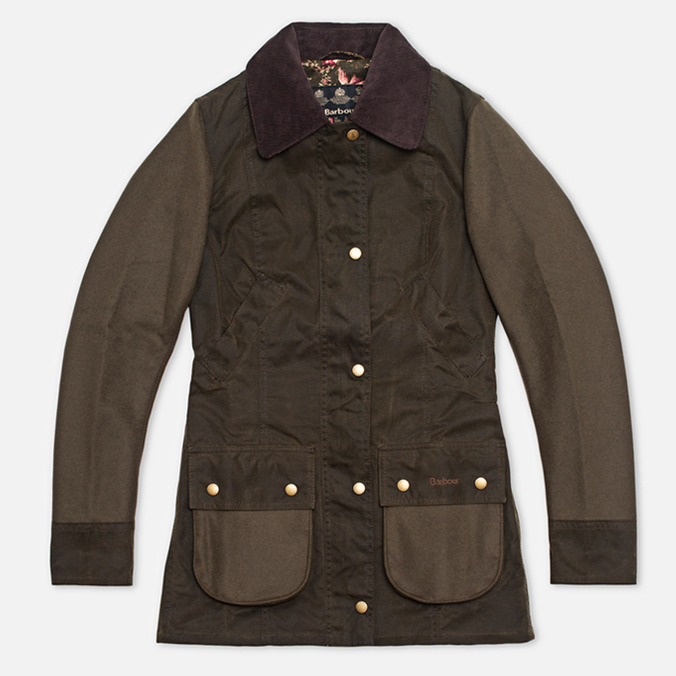 Женская куртка Barbour Border Beadnell Olive/Bird