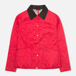 Barbour Elysia Quilt Women's Jacket Red photo- 0